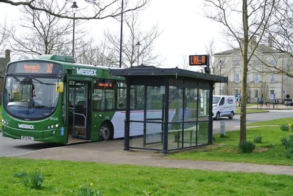 Poundbury bus