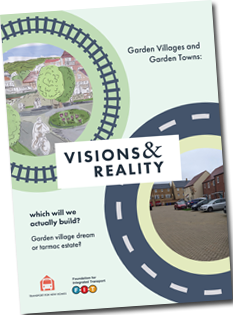 Front cover of our Garden Communities report