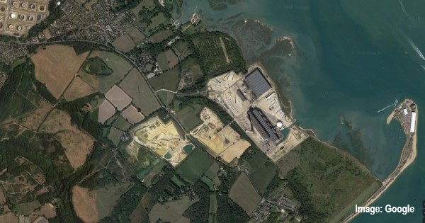 Fawley Power Station site