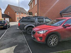 Castlemead parking
