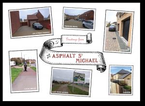 Postcard from Asphalt St Michael