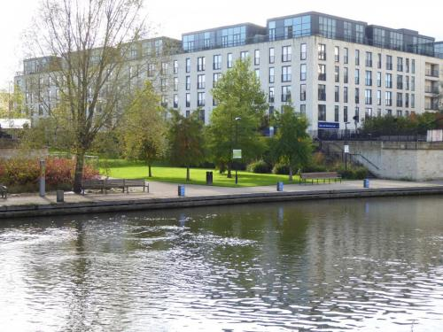 Bath Riverside: one of two riverside spaces